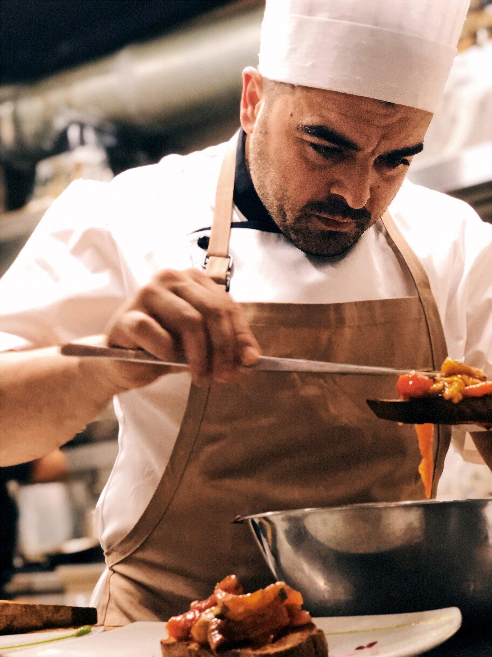 Meet the Chef Experience – Emanuel Screnci en Vespa Ristorante
